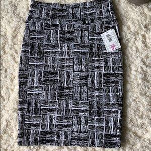 LuLaRoe Skirts - Lularoe Black and white square pencil skirt